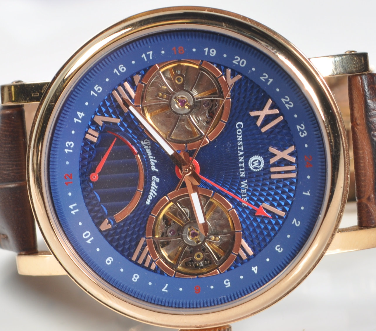 CONSTANTIN WEISZ DOUBLE HEART AUTOMATIC WRISTWATCH - Image 2 of 7