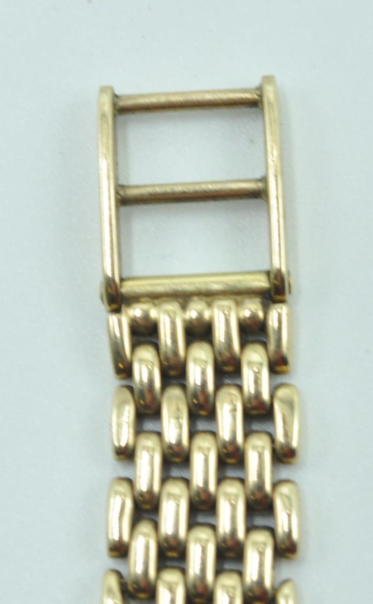 BUECHE GIROD 9CT GOLD AND DIAMOND WRIST WATCH - Image 5 of 8