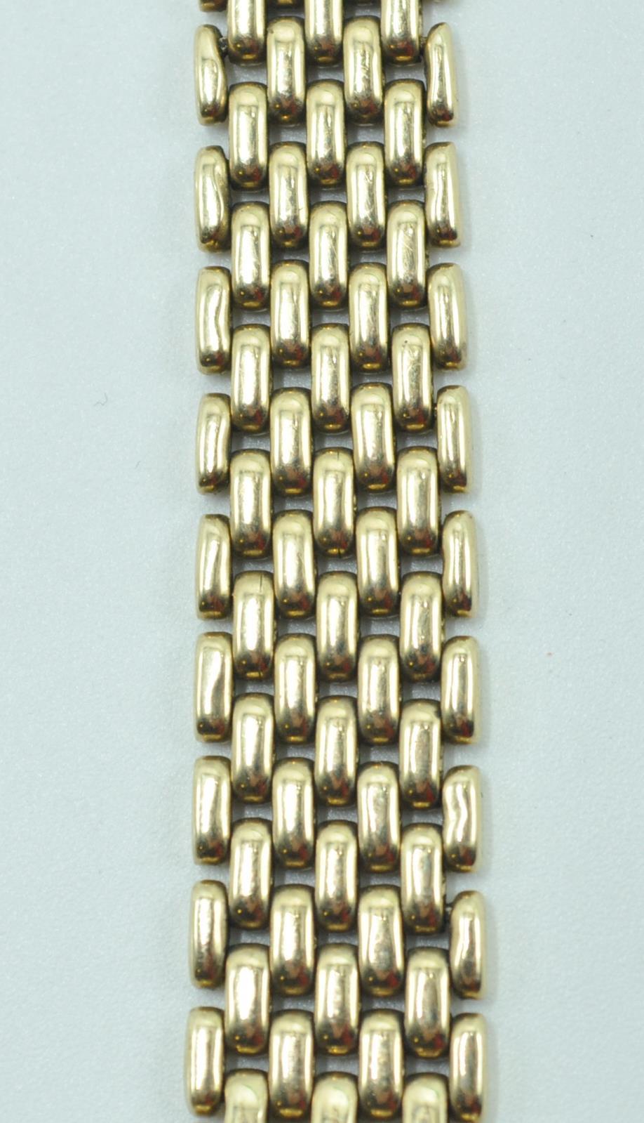 BUECHE GIROD 9CT GOLD AND DIAMOND WRIST WATCH - Image 4 of 8