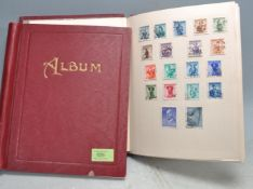STAMP COLLECTION - ALL-WORLD IN TWO ALBUMS