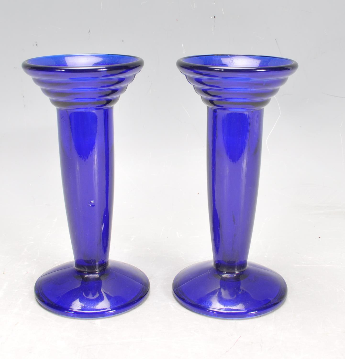 BRISTOL BLUE GLASS ORNAMENTS - Image 27 of 34
