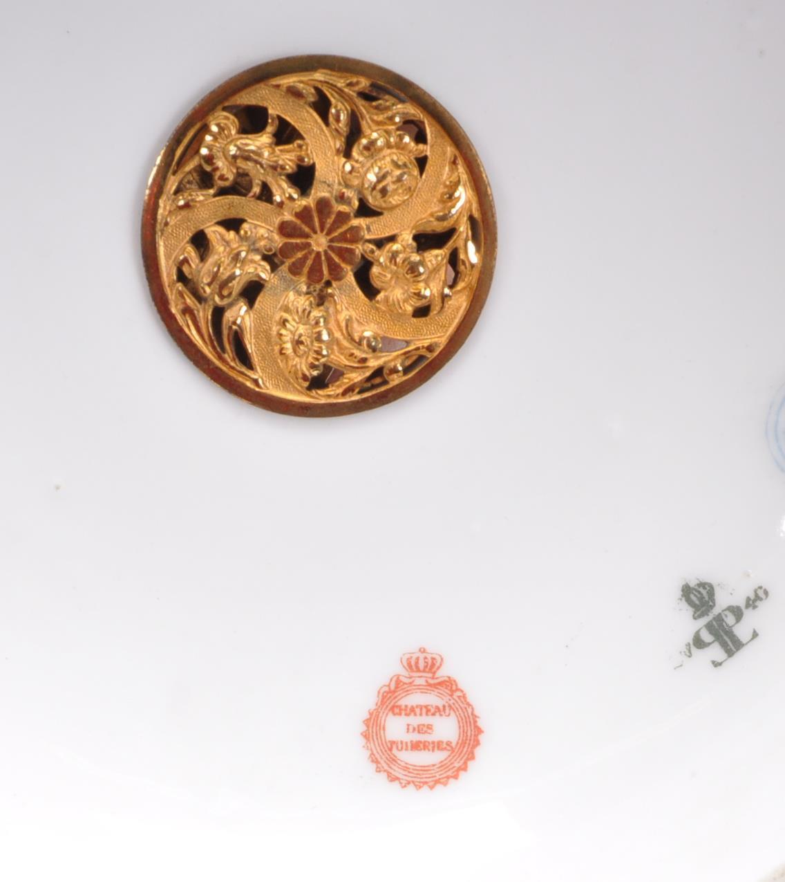 19TH CENTURY LOUIS PHILIPPE SEVRES PORCELAIN POT POURRI - Image 7 of 8