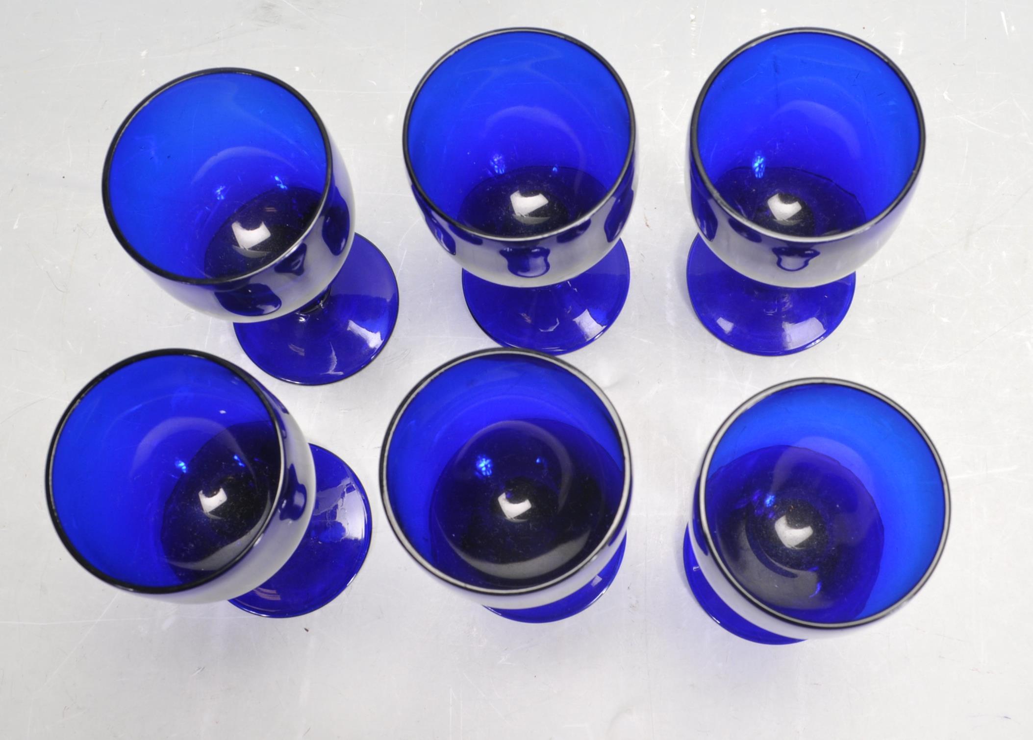 BRISTOL BLUE GLASS ORNAMENTS - Image 6 of 34