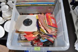 LARGE COLLECTION OF LP'S VINYL 45RPM RECORDS