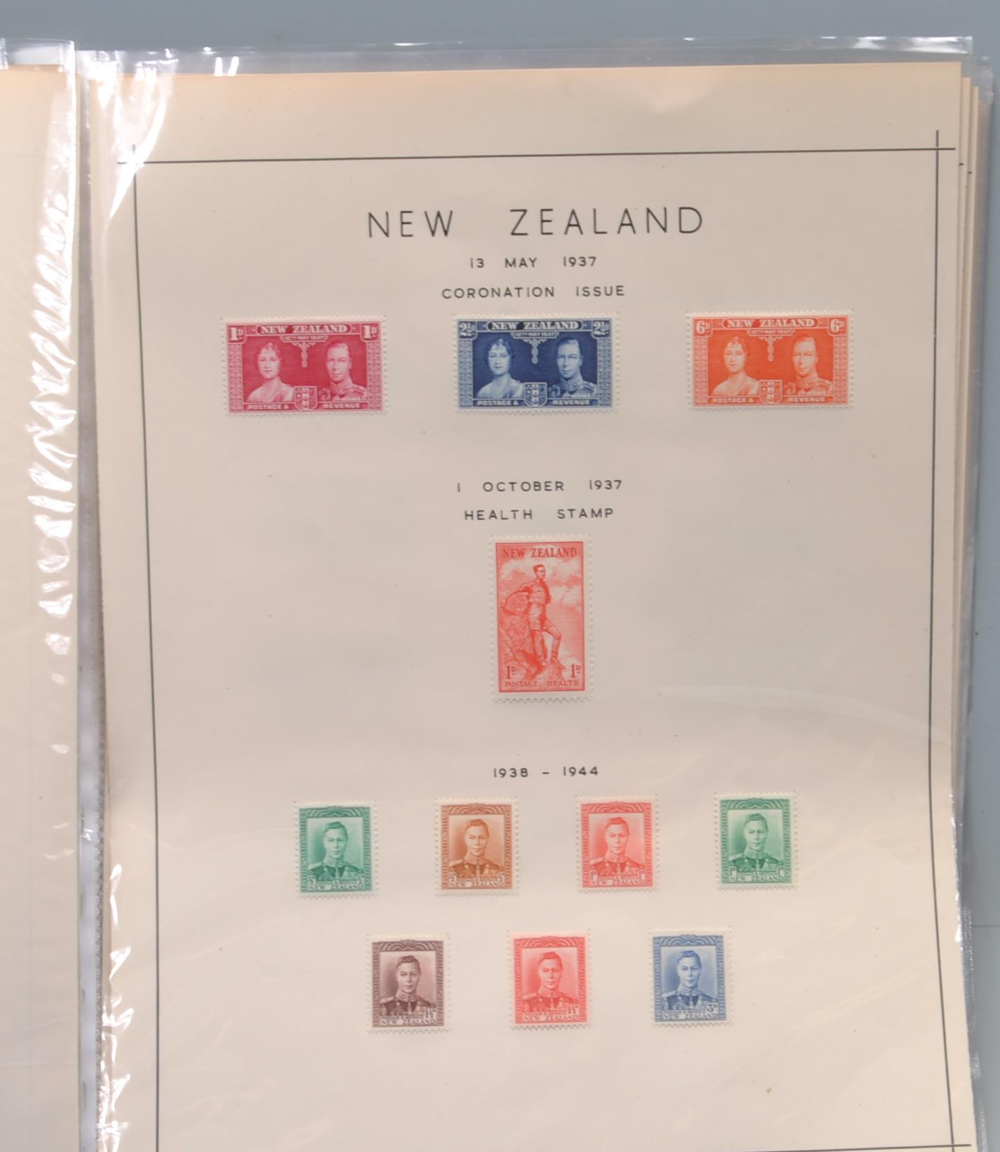 NEW ZEALAND MINT COLLECTION OF POSTAGE STAMPS - Image 2 of 8