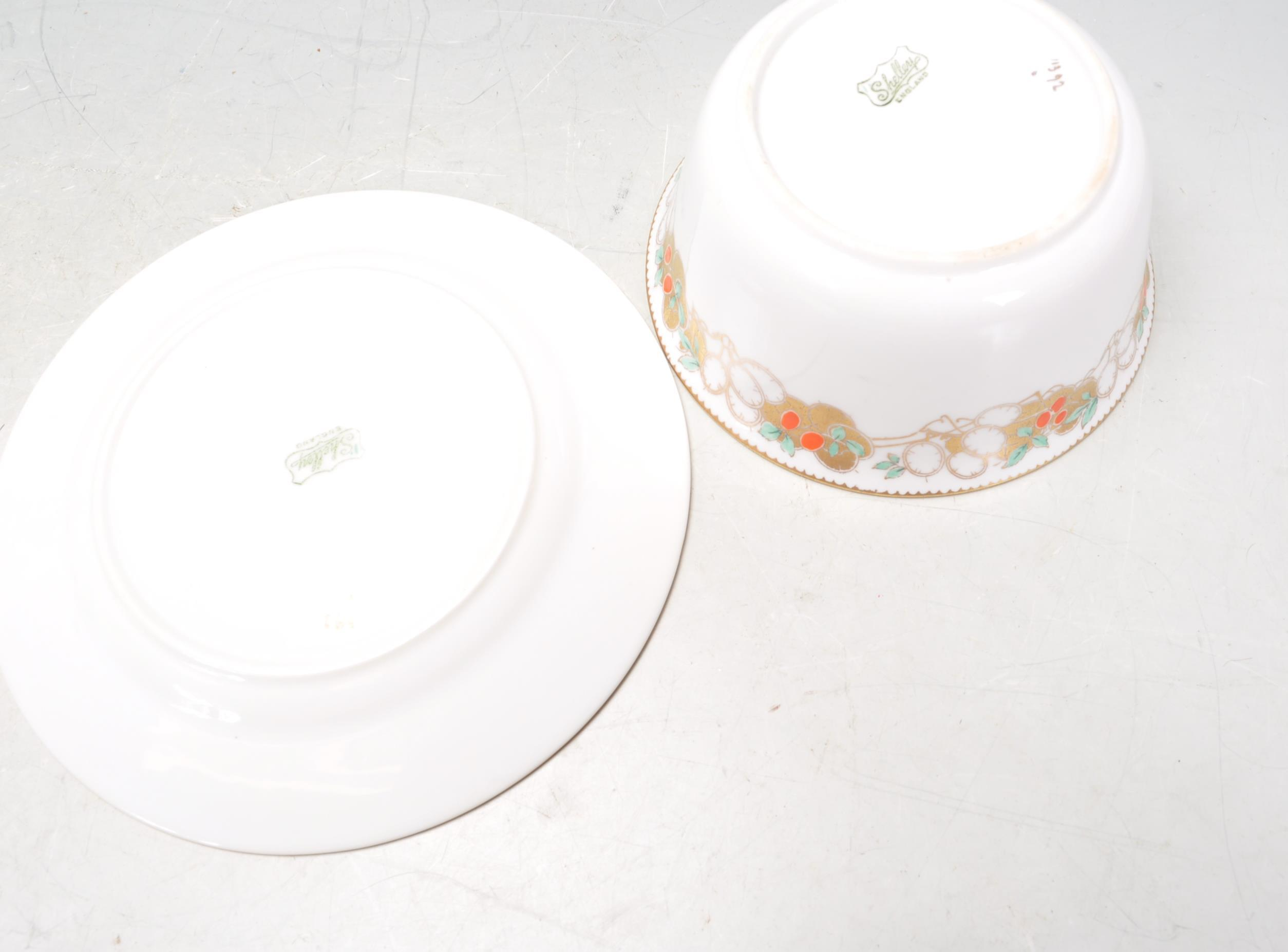 VINTAGE SHELLY TEA SET AND ADAMS PLATES - Image 8 of 14