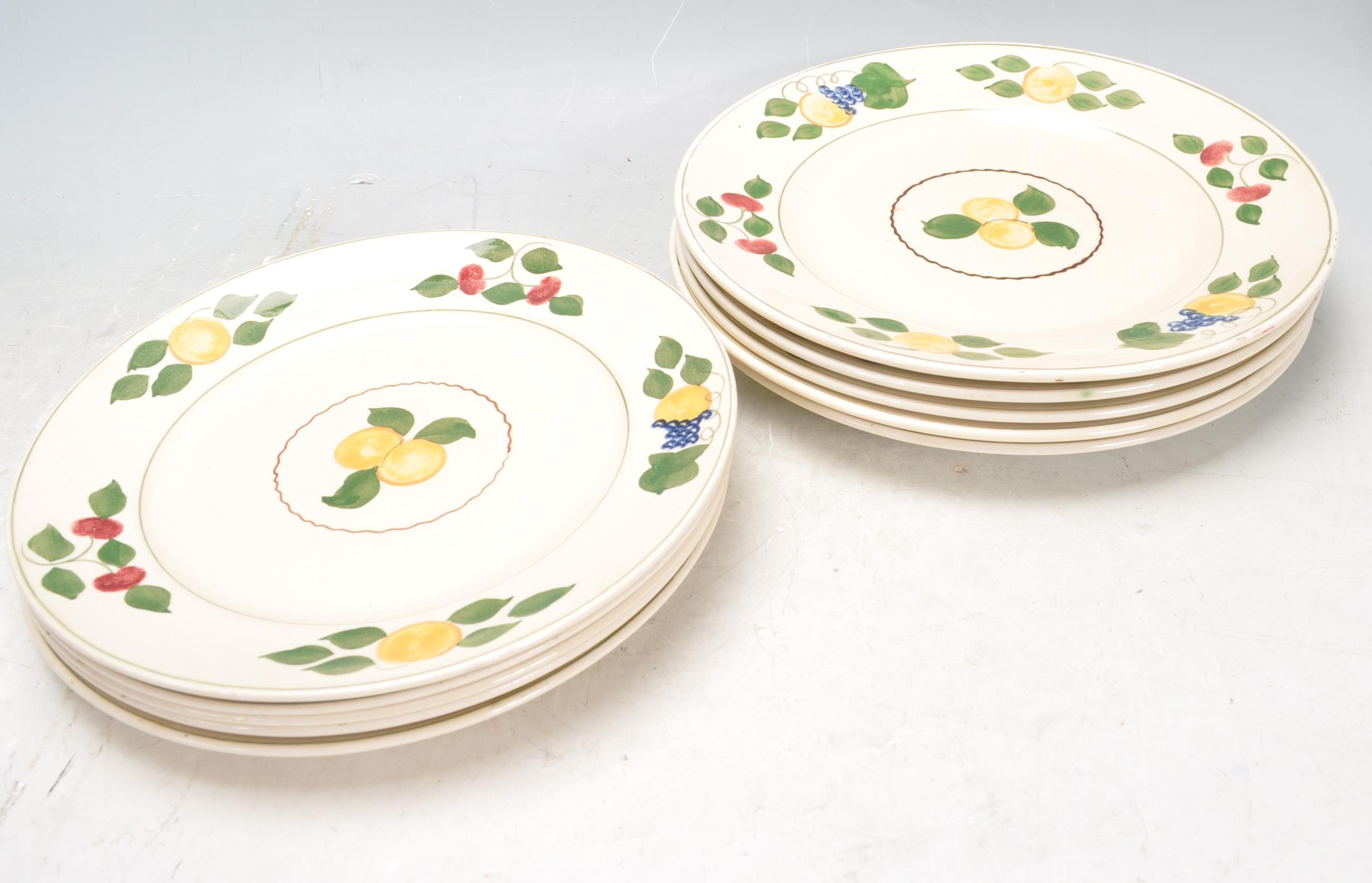 VINTAGE SHELLY TEA SET AND ADAMS PLATES - Image 12 of 14