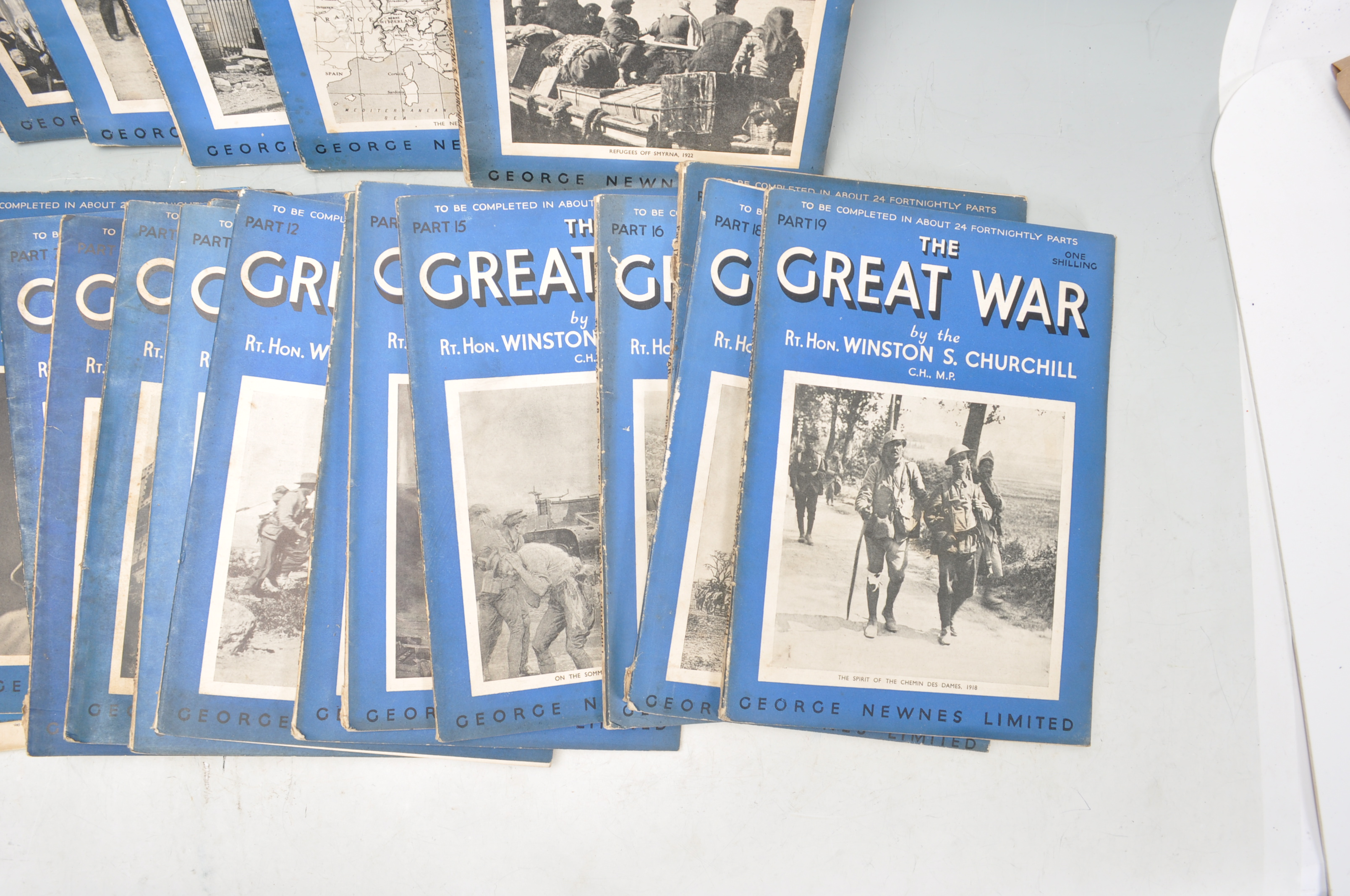 THE GREAT WAR BY WINSTON CHURCHILL - Image 4 of 4