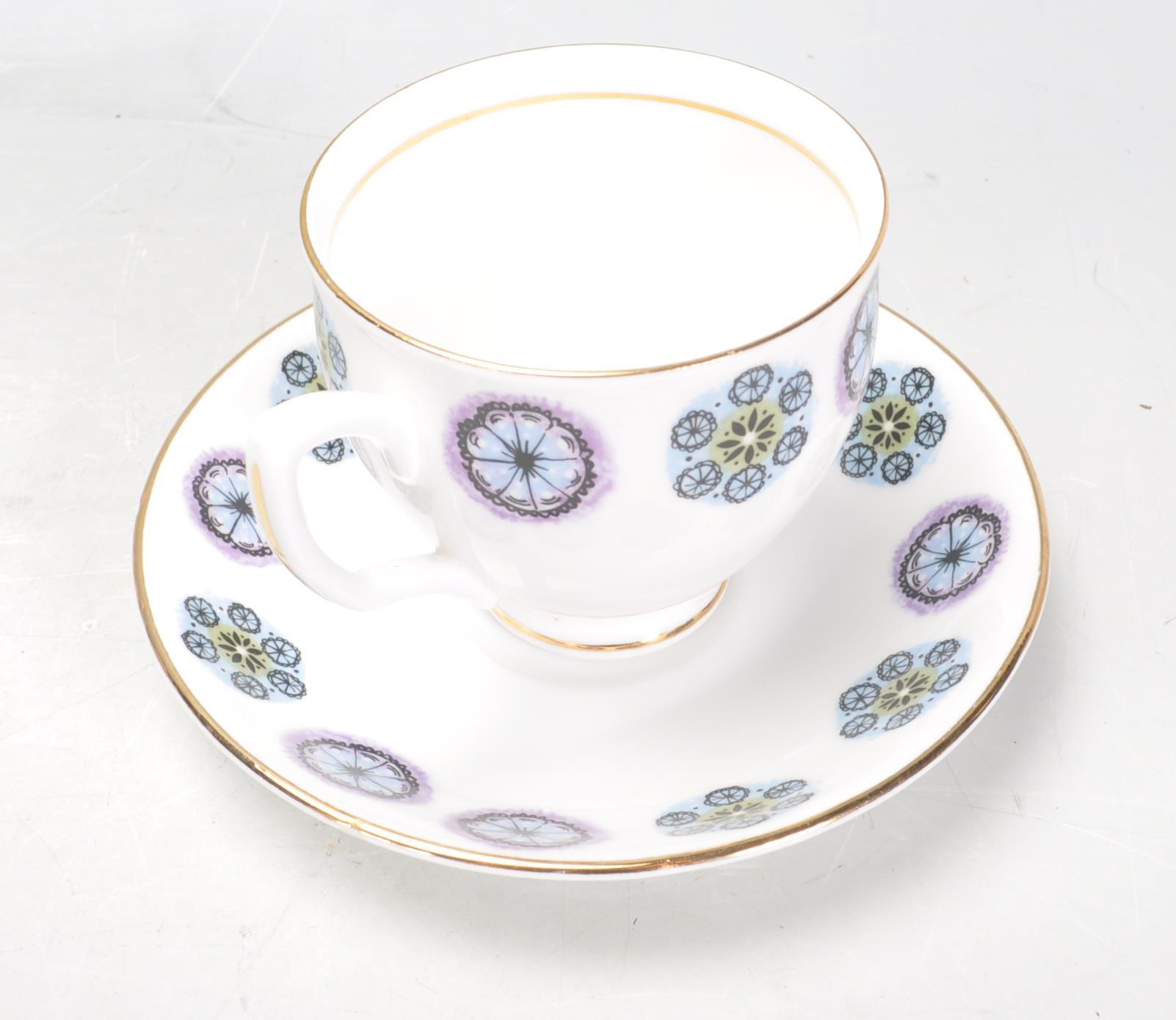 RETRO TEA SERVICE BY DUCHESS - Image 3 of 9
