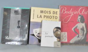 FOUR ART PHOTOGRAPHY BOOKS