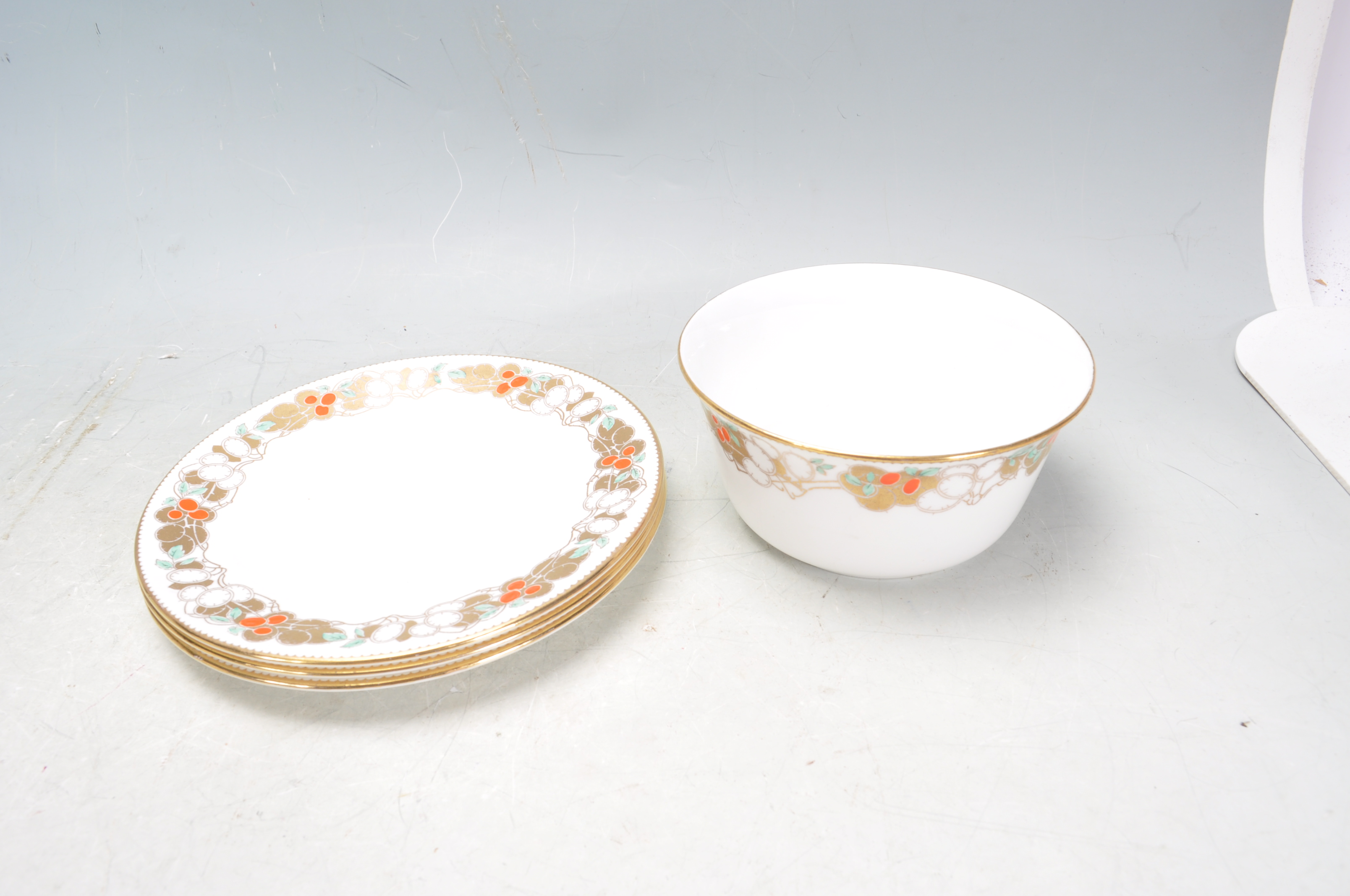 VINTAGE SHELLY TEA SET AND ADAMS PLATES - Image 7 of 14