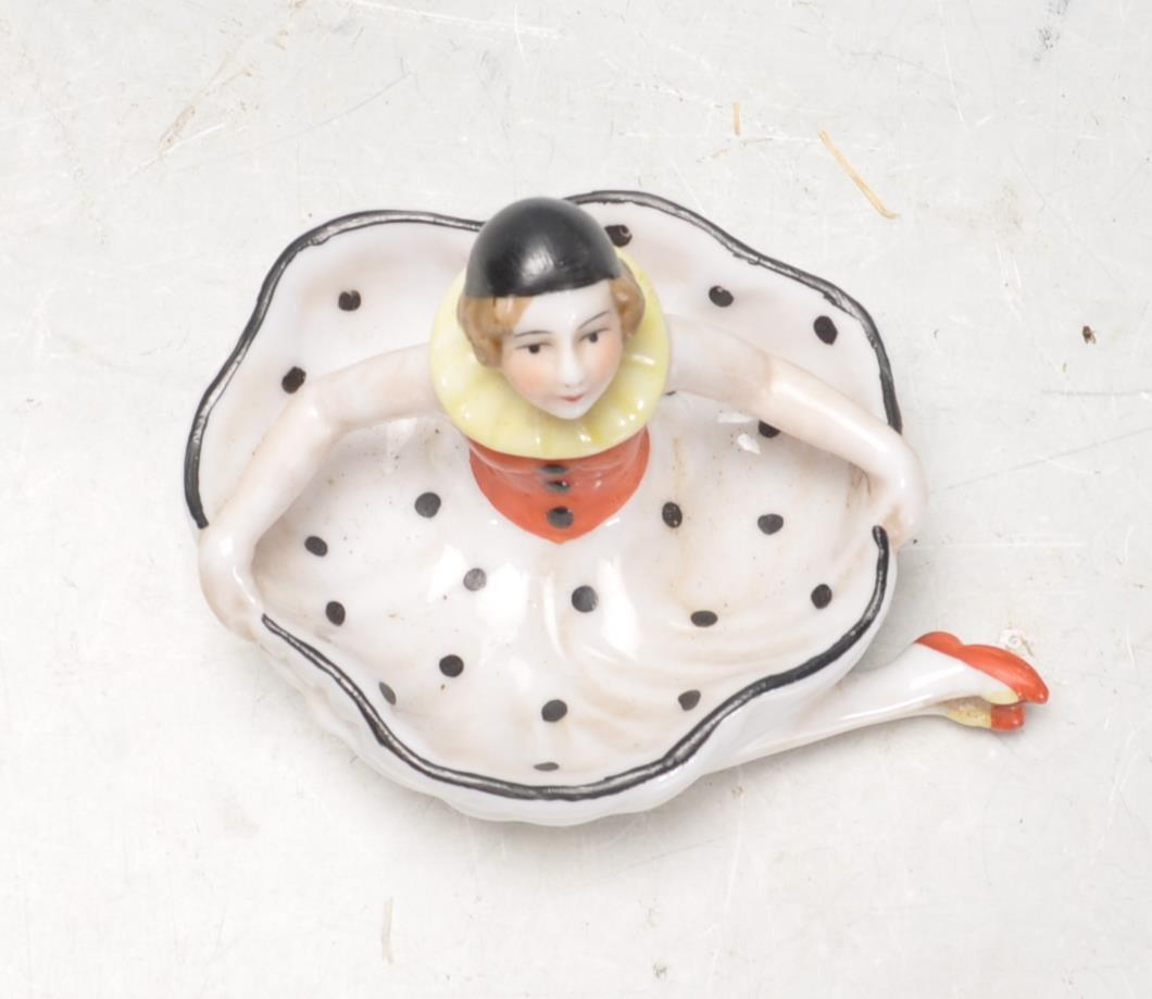 1930S STYLE PIN DISH IN THE FORM OF A DANCER. - Image 5 of 6