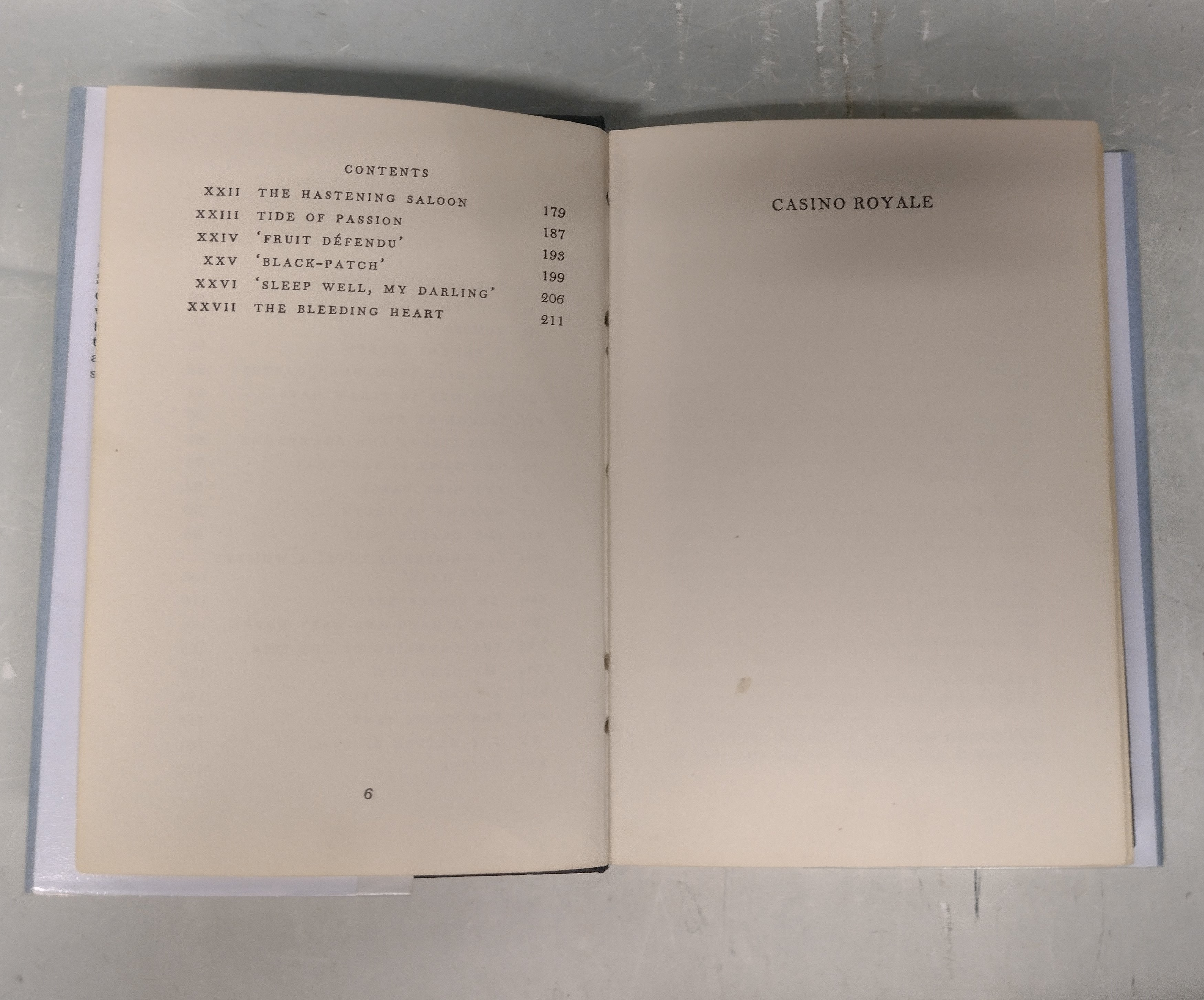 FIRST EDITION CASINO ROYALE BY IAN FLEMING - Image 6 of 7