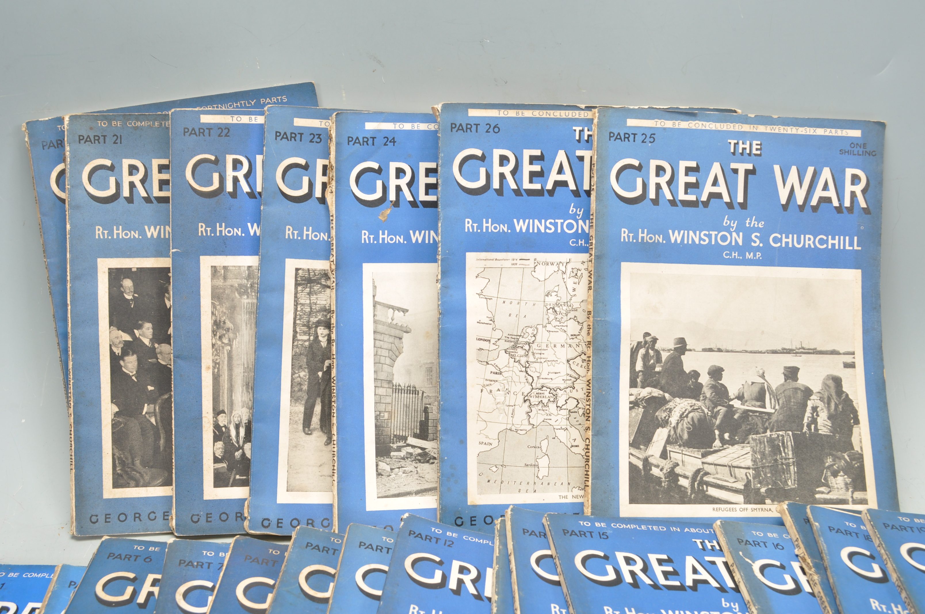 THE GREAT WAR BY WINSTON CHURCHILL - Image 2 of 4