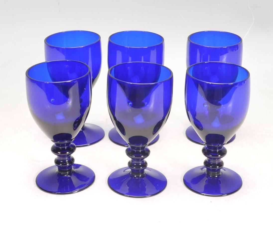 BRISTOL BLUE GLASS ORNAMENTS - Image 3 of 34