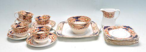 VICTORIAN TEA SERVICE BY BURGESS