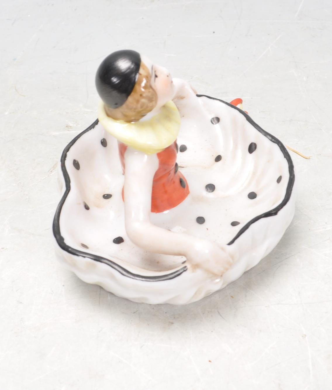 1930S STYLE PIN DISH IN THE FORM OF A DANCER. - Image 4 of 6