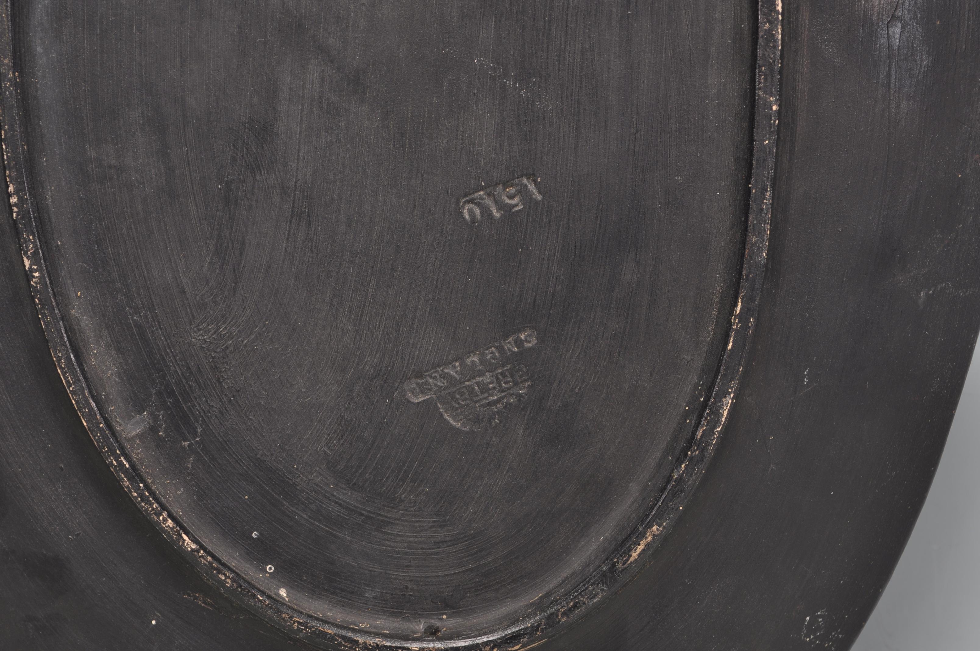 PAIR BRETBY RETRO CERAMIC ORIENTAL WALL PLAQUES - Image 6 of 6