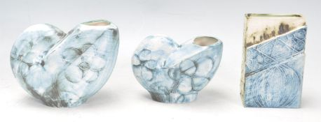 COLLECTION OF CARN STUDIO ART POTTERY