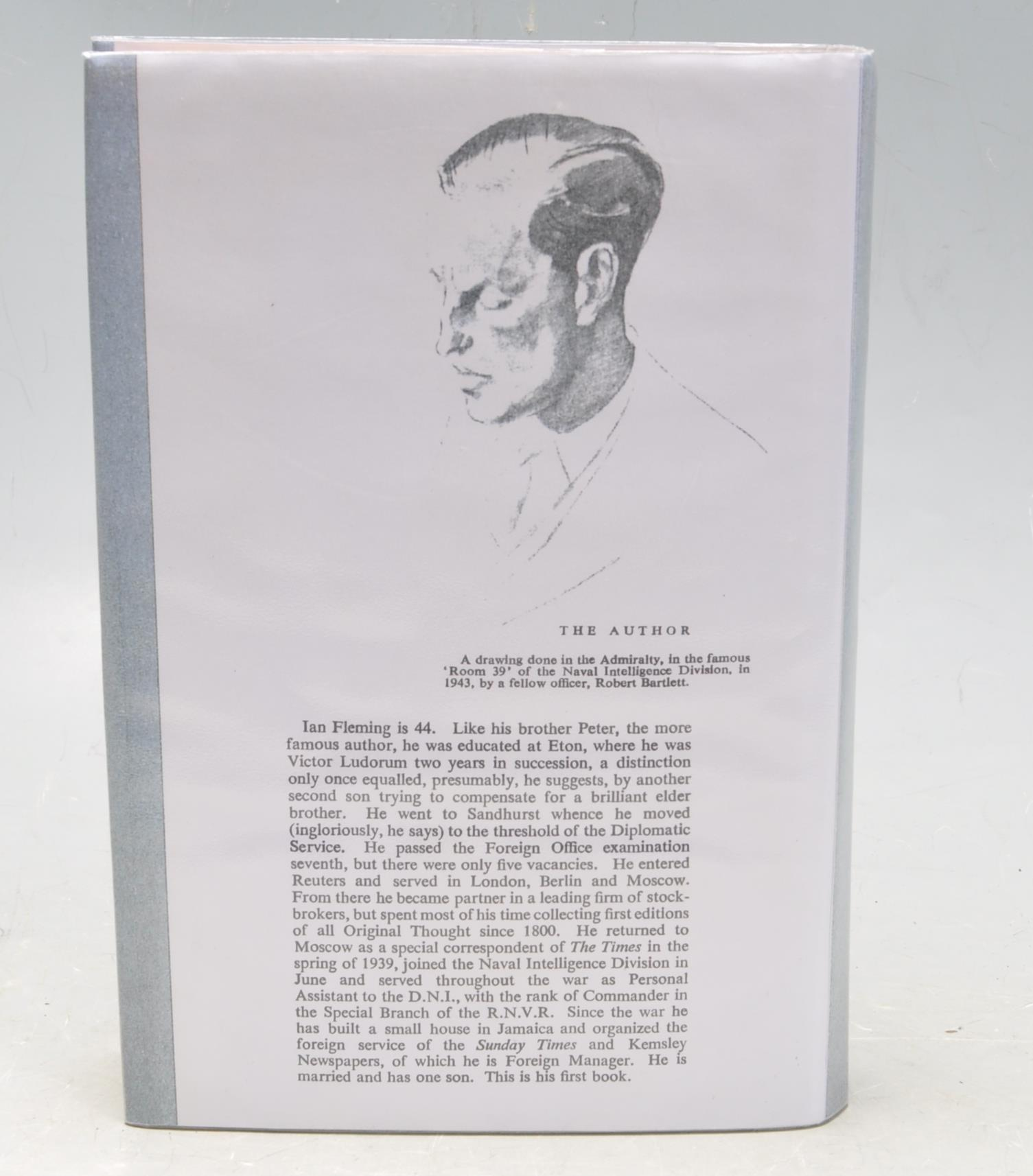 FIRST EDITION CASINO ROYALE BY IAN FLEMING - Image 3 of 7