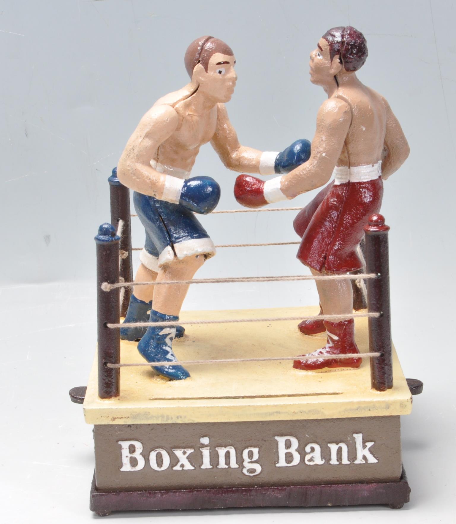 VINTAGE STYLE CAST IRON MONEY BOX