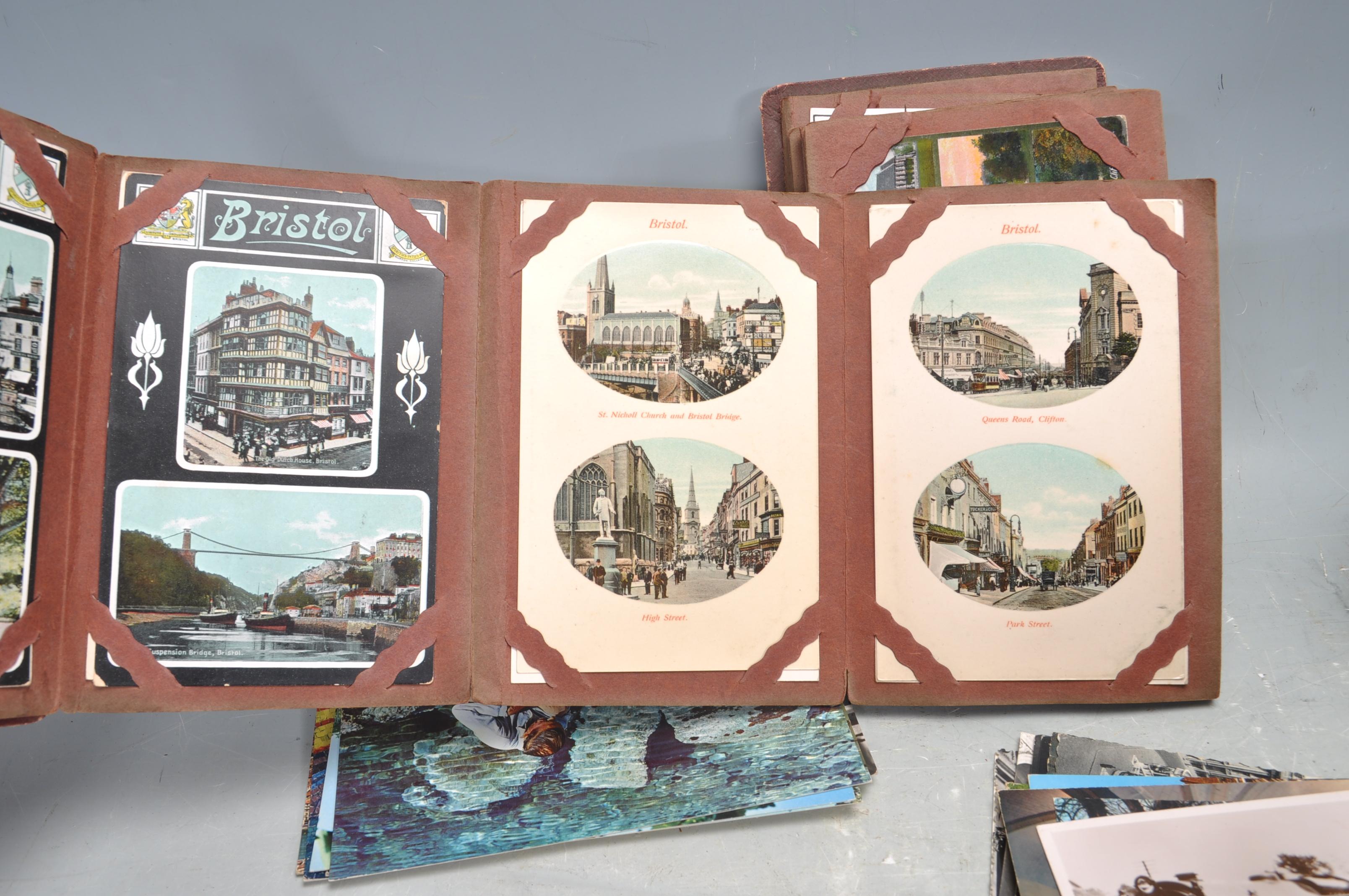 A SHOE BOX OF VINTAGE POSTCARDS - Image 8 of 8