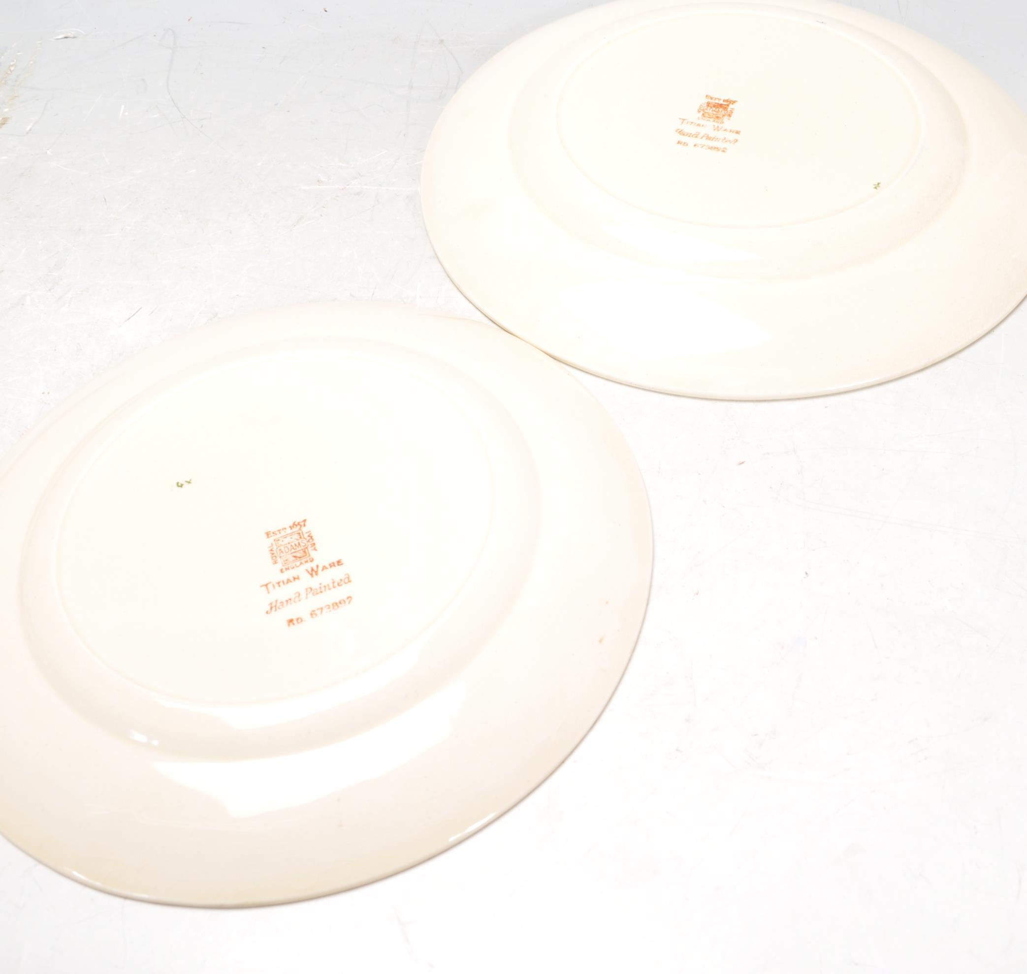 VINTAGE SHELLY TEA SET AND ADAMS PLATES - Image 14 of 14