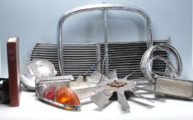 COLLECTION OF 20TH CENTURY CAR PARTS AND ACCESSORIES