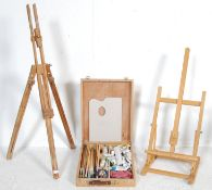 COLLECTION OF VINTAGE 20TH CENTURY ART EQUIPEMENT