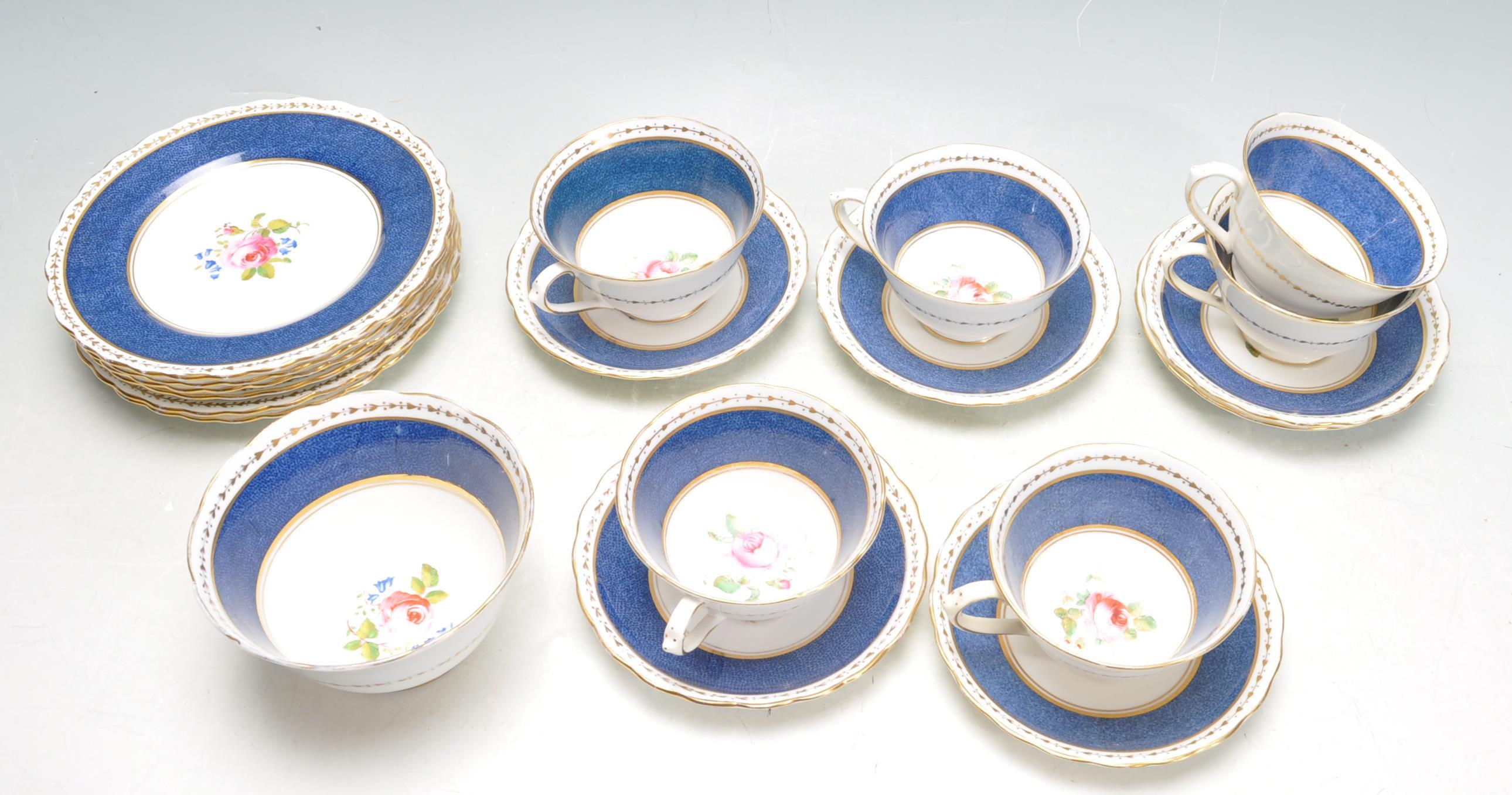 COLLECTION OF NEW CHELSEA STAFFORDSHIRE TEA SERVICE. - Image 2 of 4