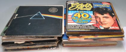 LARGE COLLECTION OF VINTAGE VINYL LPS