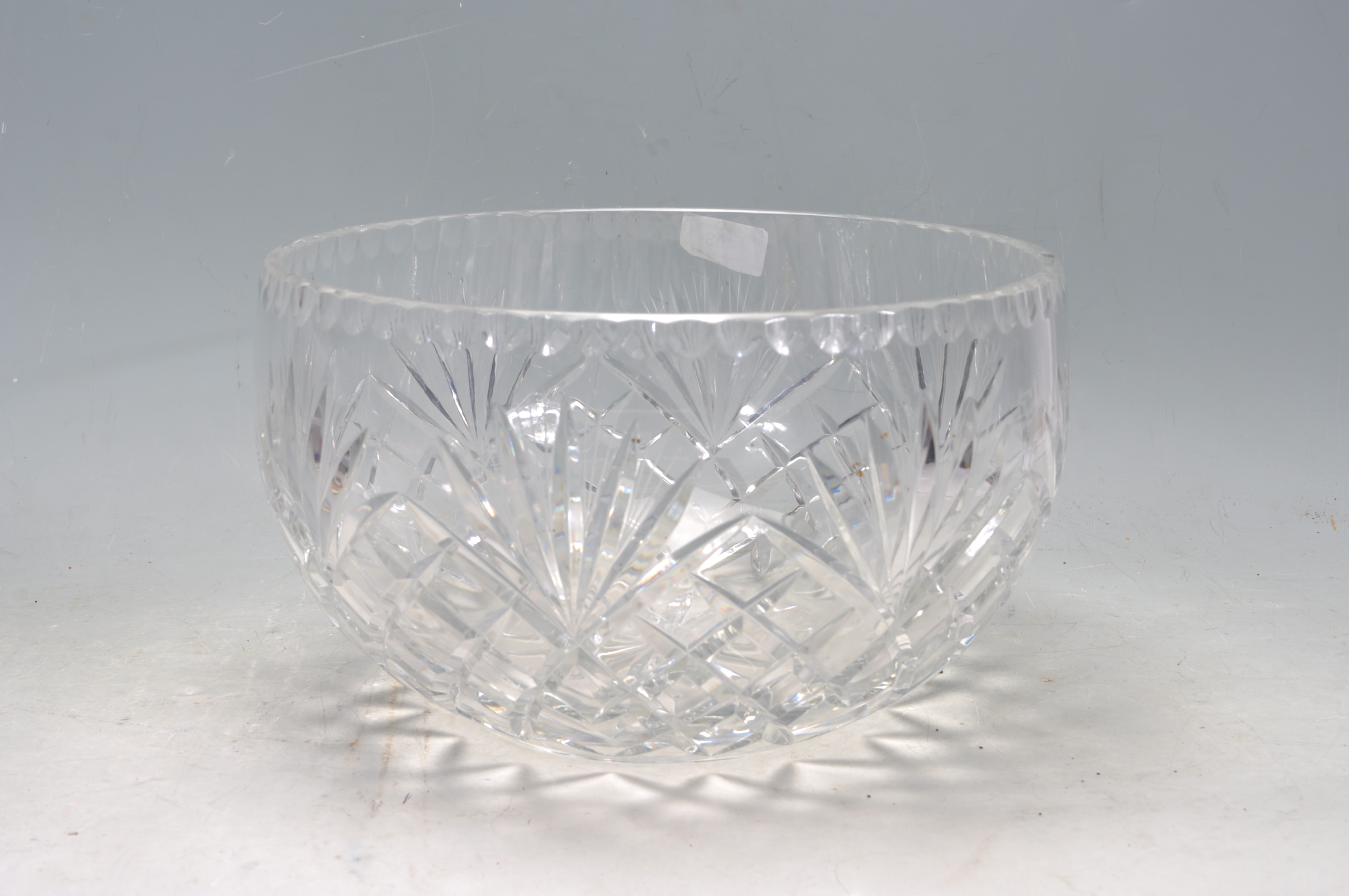 VINTAGE 20TH CENTURY WATERFORD CRYSTAL GLASS BOWL - Image 3 of 5