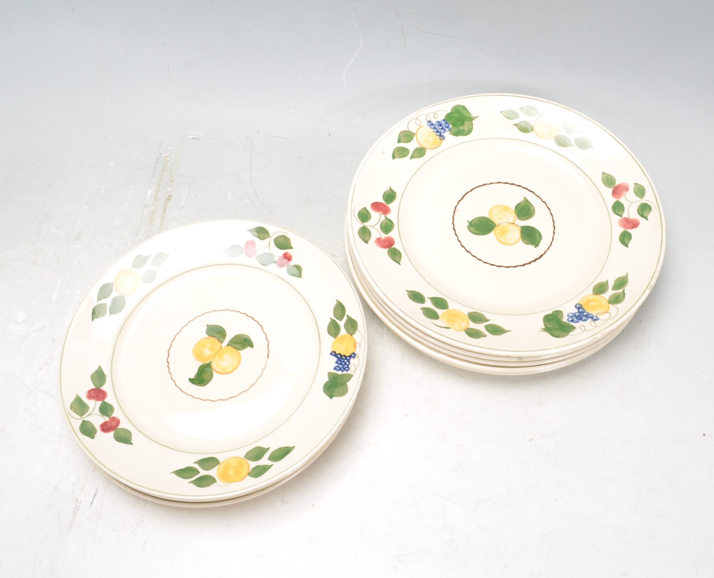 VINTAGE SHELLY TEA SET AND ADAMS PLATES - Image 13 of 14