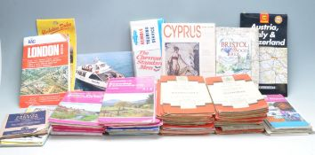 COLLECTION OF VINTAGE 20TH CENTURY ORDNANCE SURVEY MAPS