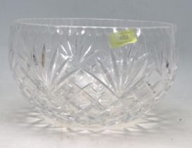 VINTAGE 20TH CENTURY WATERFORD CRYSTAL GLASS BOWL