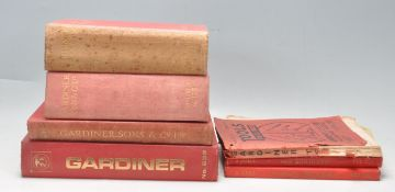 COLLECTION OF VINTAGE 20TH CENTURY GARDINERS OF BRISTOL CATALOGUES