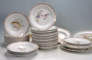 LARGE QUANTITY OF ROYAL OPALOR DINNER PLATES