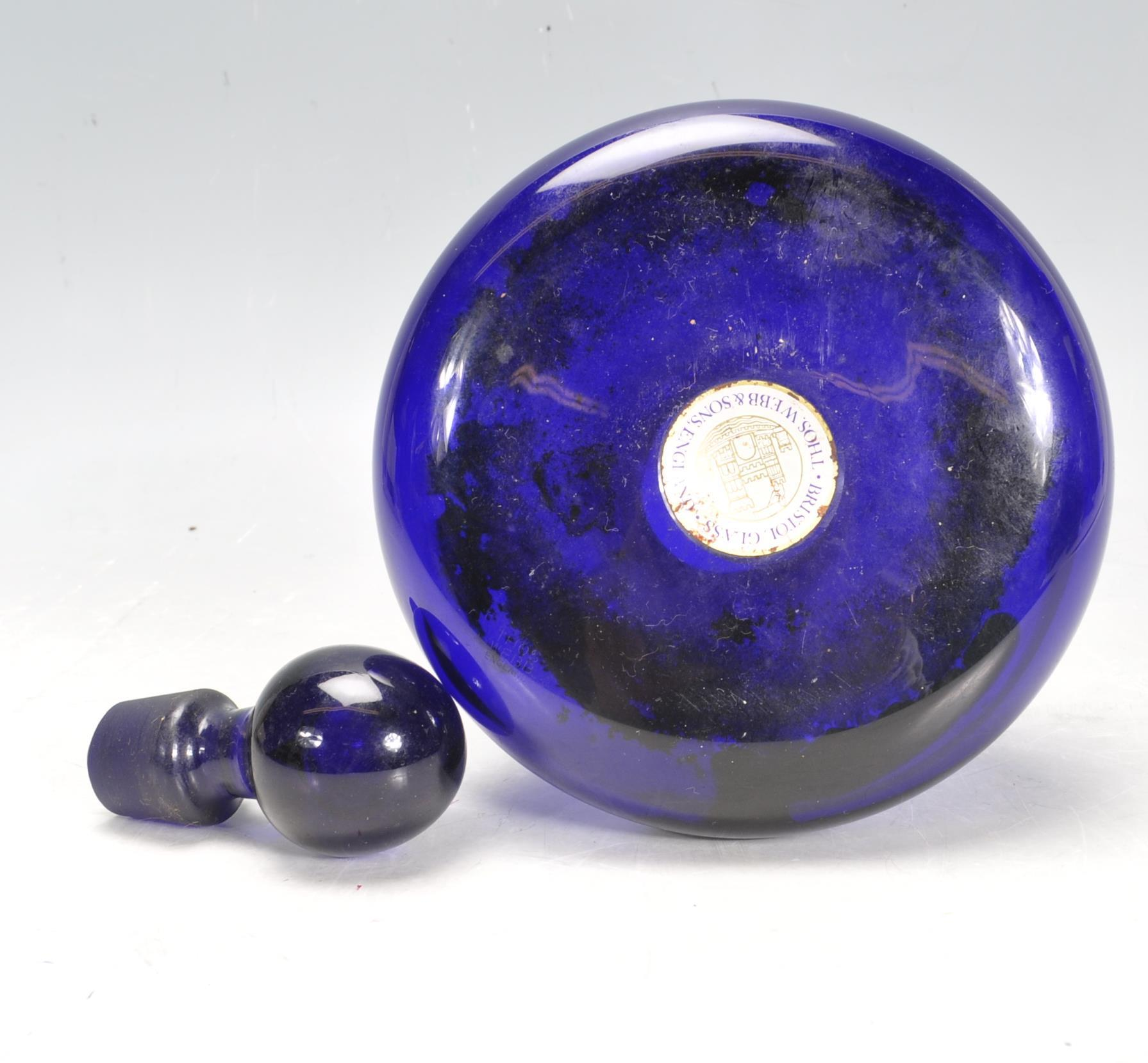 BRISTOL BLUE GLASS ORNAMENTS - Image 33 of 34