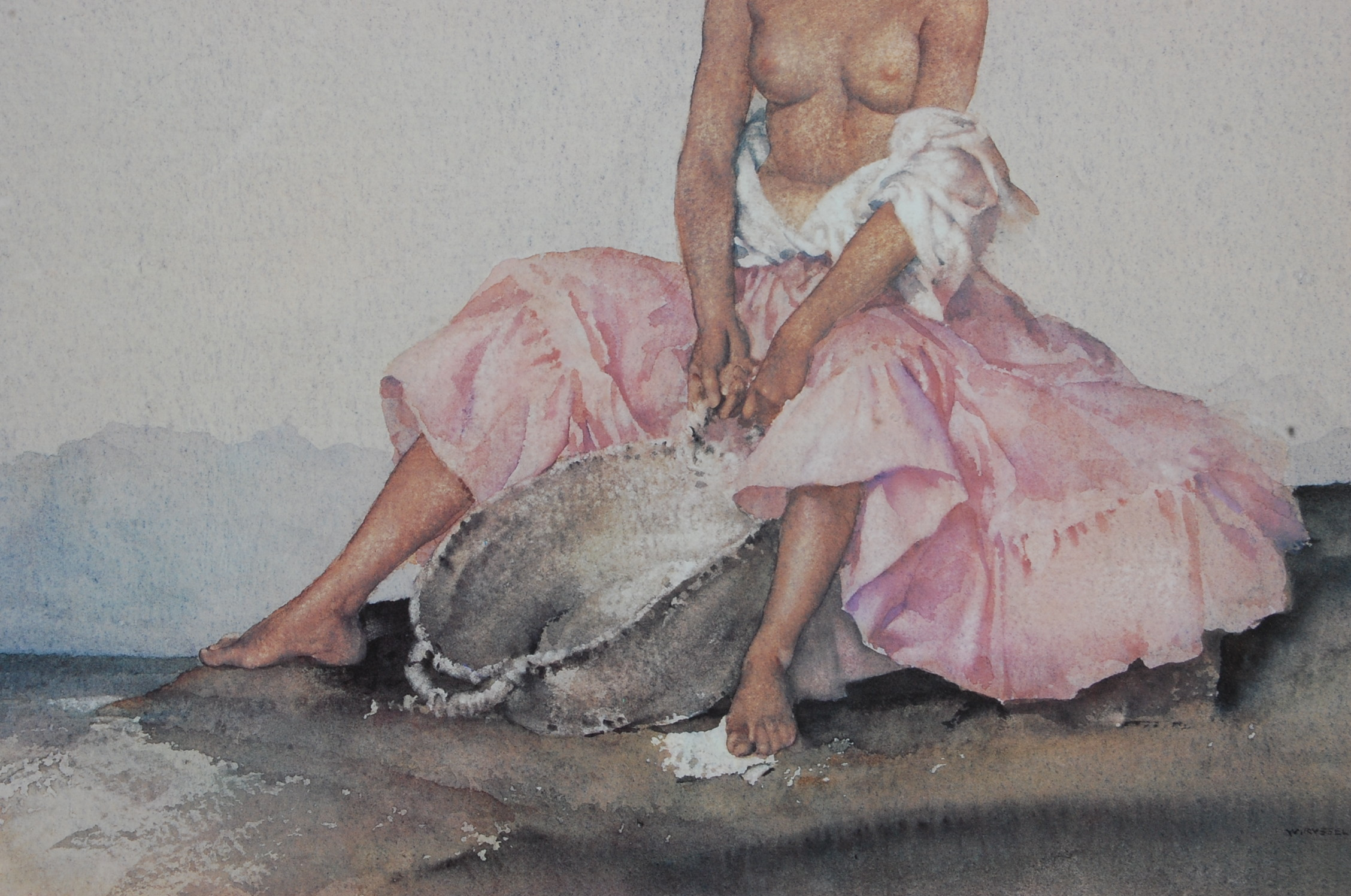 WILLIAM RUSSELL FLINT ARIADNE LIMITED EDTION PRINT - Image 4 of 6