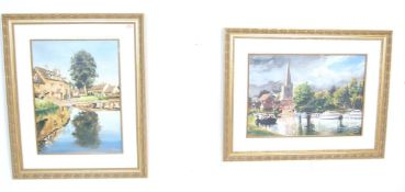 R. HARTLEY PAIR OF SIGNED AND NUMBERED PRINTS