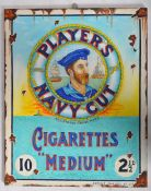 PLAYER'S NAVY CUT OIL ON CANVAS ARTIST IMPRESSION PAINTING