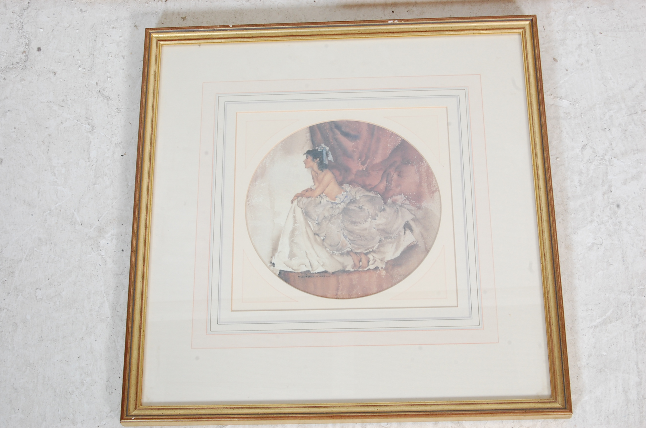 COLLECTION OF FIVE VINTAGE WILLIAM R. FLINT PICTURE PRINTS - Image 6 of 6