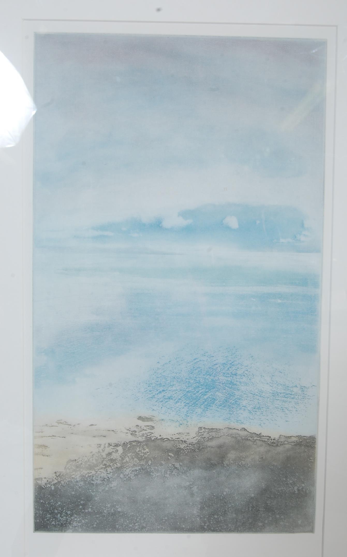 DEREK WILKINSON (BRITISH 1921-2001) 20TH CENTURY WATERCOLOUR SEASCAPE - Image 4 of 7