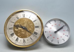 TWO VINTAGE 20TH CENTURY SYNCHRONOME WALL CLOCKS
