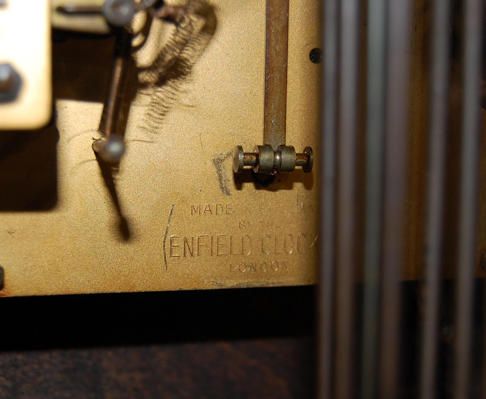 EARLY 20TH CENTURY 1930S WALNUT VENEER 8 DAY GRANDMOTHER CLOCK - Image 7 of 8