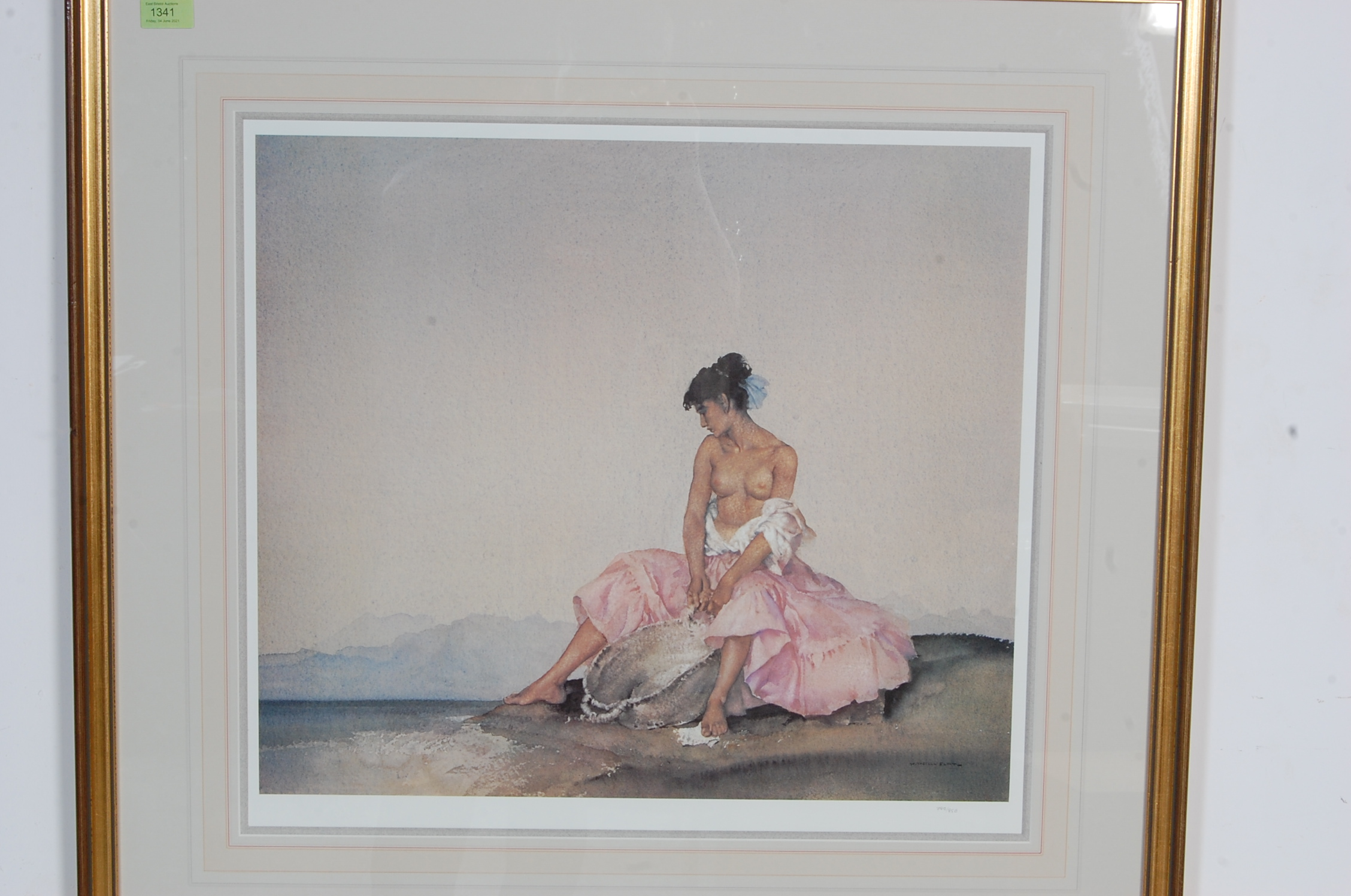 WILLIAM RUSSELL FLINT ARIADNE LIMITED EDTION PRINT - Image 2 of 6