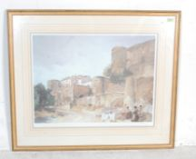WILLIAM RUSSELL FLINT GOSSIPERS AT LE CASTELLET PRINT