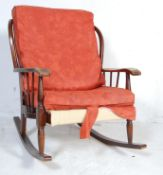 ERCOL STYLE STICK BACK ROCKING CHAIR