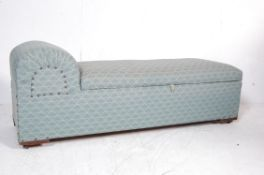 ANTIQUE STYLE OTTOMAN DAYBED BLANKET BOX