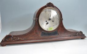 EARLY 20TH CENTURY NAPOLEANS HAT MANTEL CLOCK
